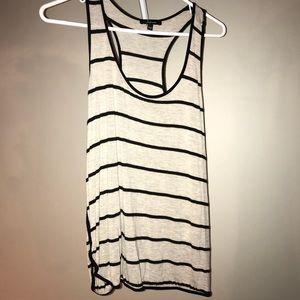 Super soft striped tank top